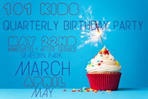 Quarterly Birthday Party Slide