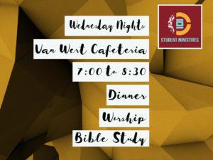 101 Students Wednesday Night